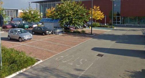 il parcheggio del parco Stella