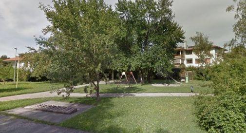 il parco tra via Piave e via Tiziano
