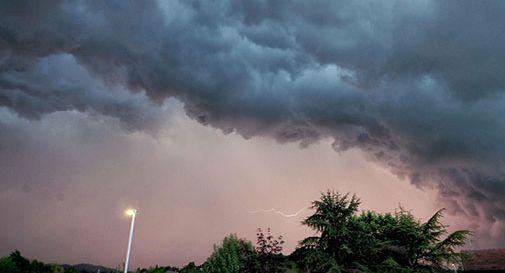 Arrivano temporali in Veneto, stato di attenzione