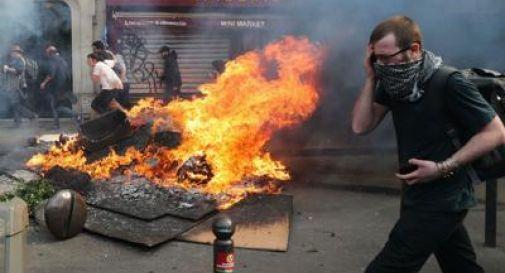 1 maggio di scontri a Parigi