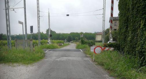 Passaggio a livello via Deganutti