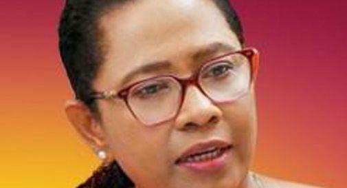 la ministra della Salute dello Sri Lanka, Pavithra Wanniarachchi