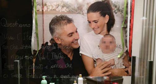 Coronavirus: il 'grazie' con la foto di famiglia di Mattia, il paziente uno