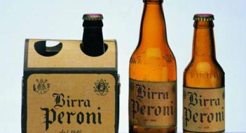 Birra Peroni, fa 170 anni e festeggia con lattine storiche