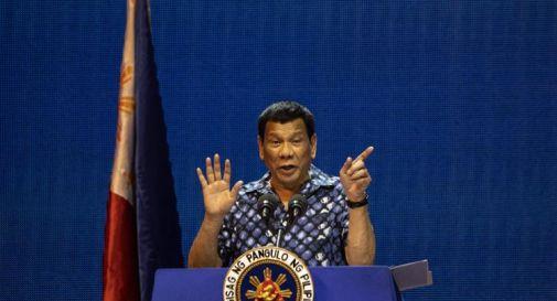 Covid Filippine, Duterte: