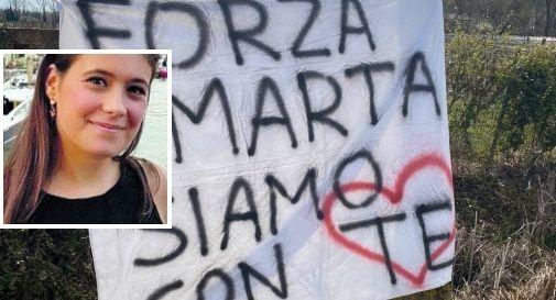 il cartello per Marta