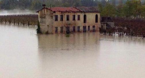 un'immagine dell'alluvione di ottobre