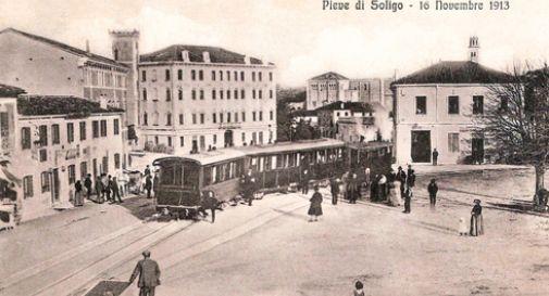 La ferrovia a pieve di soligo 100 anni fa oggi treviso for Spazio bagno pieve di soligo