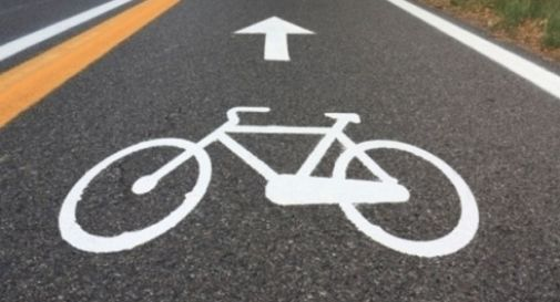 nuova pista ciclabile in via Zermanesa
