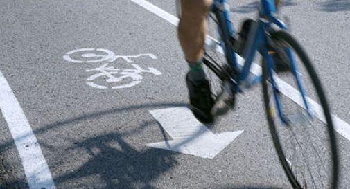 Pista ciclabile di via Grazioli, l'amministrazione tiene solo lo stralcio
