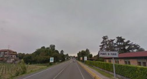 la regionale Postumia a Ponte di Piave