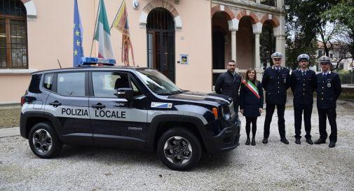 la Polizia locale di Ponte di Piave con sindaco Roma e assessore Picco