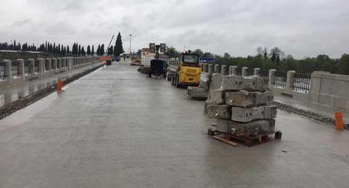 Il Ponte della Priula riapre a inizio giugno