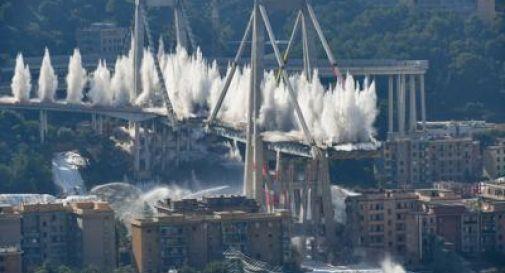 Abbattuto Ponte Morandi