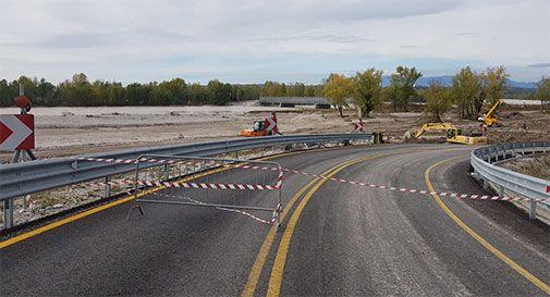 Susegana, il ponte bailey riaperto già nel fine settimana
