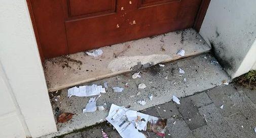Oderzo, boati misteriosi: danni all'ingresso di un palazzo