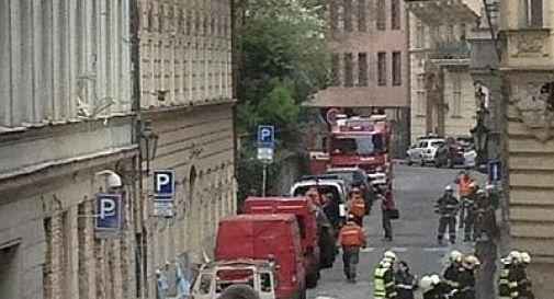 Praga, esplosione nel centro della città: 40 i feriti ma si temono tre morti