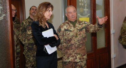 Il nuovo prefetto visita il super-comando di Padova