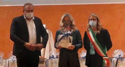 """Cerimonia """"Il meglio che c'è"""" con il sindaco di Vedelago, Cristina Andretta"""