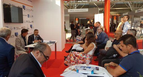 Salone dell'Edilizia, Toninelli in visita alla trevigiana Service&Consulting