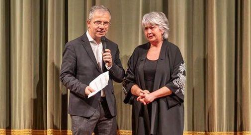il preside Franco De Vincenzis e la professoressa Deborah Lotto referente del Liceo Musicale Giorgion
