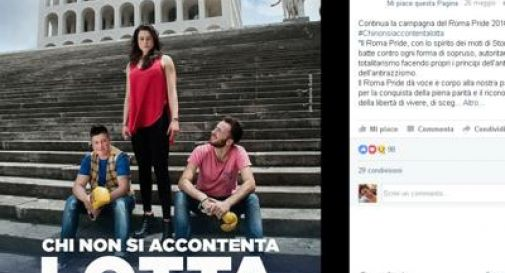 Fendi vs campagna Roma Pride: