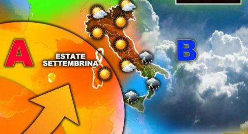 Vortice sull'Italia, meteo divide il Paese: cosa succede in settimana