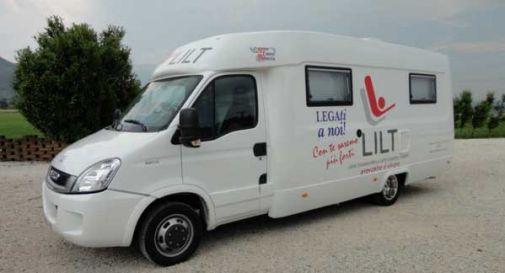 Arriva il camper della Lilt a Mogliano, esami gratuiti per la prevenzione del tumore al seno