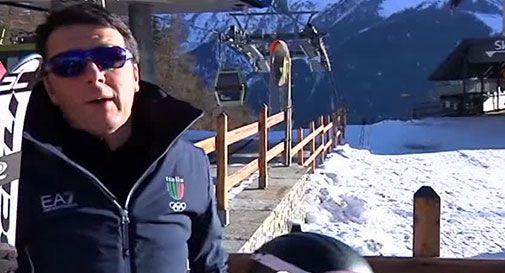 """""""Renzi e la sua famiglia a Courmayeur con volo di Stato""""."""