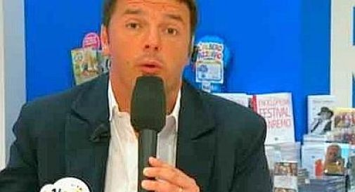 Renzi: ''M5S? Si spaccheranno, pensano solo a scontrini e diaria''