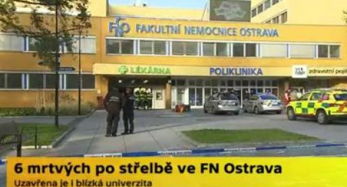 Sparatoria in ospedale: 6 i morti