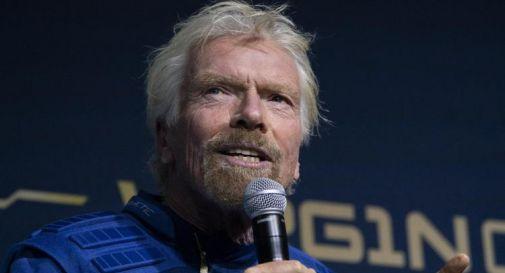Richard Branson vola nello spazio con la Virgin Galactic