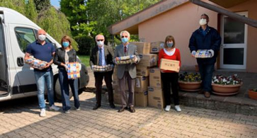 Coronavirus, il Rotary Club di Conegliano Vittorio Veneto dona al Comune alimenti e pannolini
