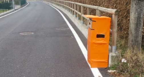 Vittorio Veneto: spunta un altro autovelox, ma è finto
