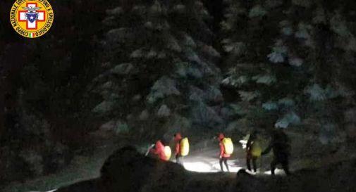 Rischio frane in montagna: recuperati 4 escursionisti di Oderzo