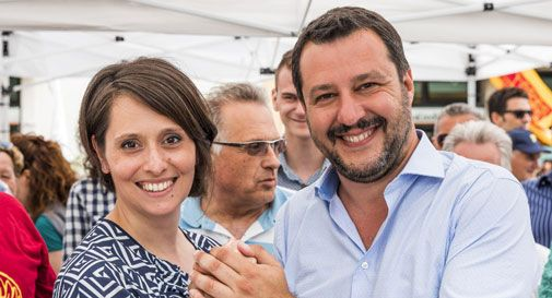 Matteo Salvini a Godega per sostenere Paola Guzzo