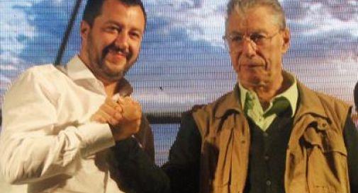 Tensione tra Salvini e Bossi