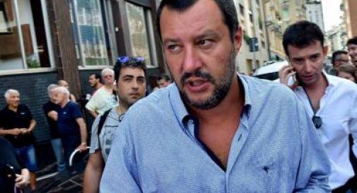 Malore per Salvini