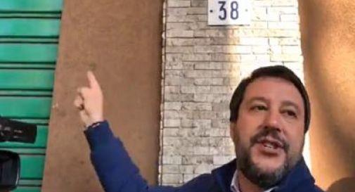 Matteo Salvini denuncia lo spaccio