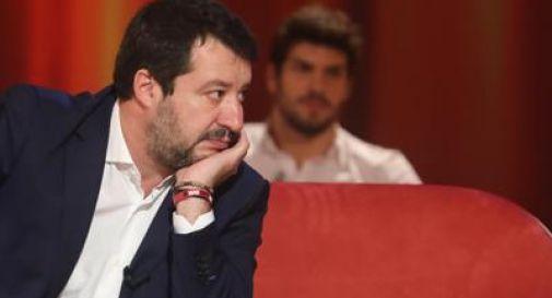 Salvini ospite televisivi