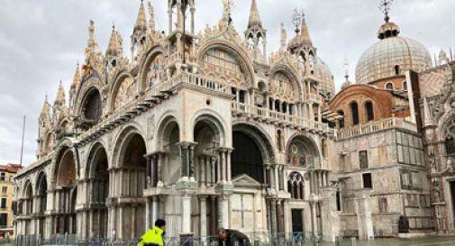 Danni alla basilica di San Marco,