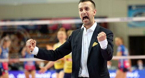 Daniele Santarelli confermato sulla panchina dell'Imoco Volley