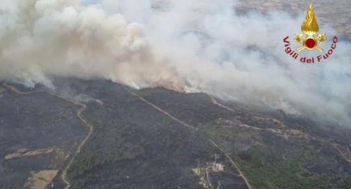 Incendi Sardegna, Protezione Civile chiede aiuto ai Paesi Ue