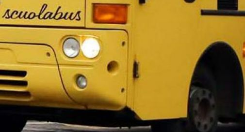Scontro tra scuolabus e furgone a Fontanelle