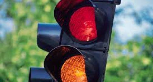 nuovo semaforo a San Cipriano