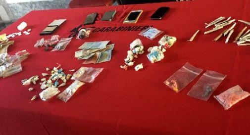 """Blitz alla """"Baita al Lago"""", due arresti e tre denunce per droga"""