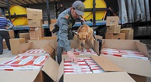 Gdf di Tarvisio sequestra 5 tonnellate di sigarette di contrabbando, 2 arresti