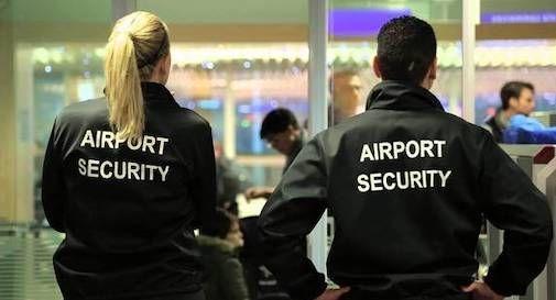 addetti sicurezza aeroporto