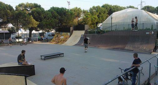 Lo skatepark di via Colelli a Mogliano Veneto