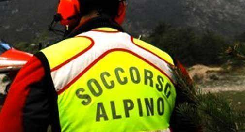Bloccato in montagna a duemila metri d'altezza: salvato dal Soccorso Alpino